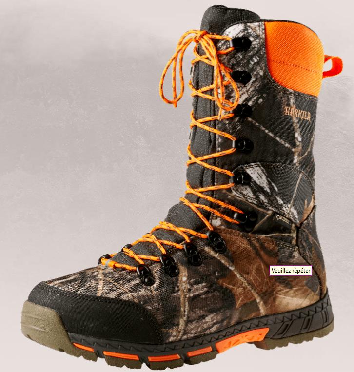 chaussure de chasse harkila